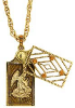 Angelos di Luce Secret Prayer Hidden Angel Locket Necklace (SKU: P4793)