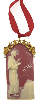 St. Francis of Assisi Gold Cameo Ornament (SKU: 91273)