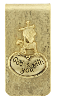 'God is With You' Money Clip (SKU: 95002)