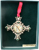 'N' Vatican Collection Ornament (SKU: P8080N)