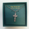 Classic Vatican Cross Necklace (SKU: P4357)