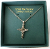 Cross - Marcasite Necklace (SKU: P4843)