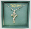 Crucifix Necklace Vatican Library Collection (SKU: P2197)