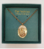Holy Mother Medallion Vatican Necklace (SKU: P6220)