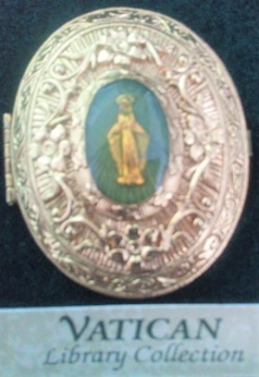 Our Lady of Grace Vatican Library Collection Pill Box