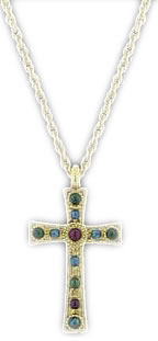 Kingdom Gold Cross Necklace