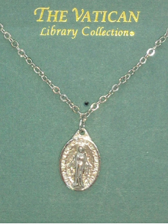Holy Mother Medallion Vatican Necklace
