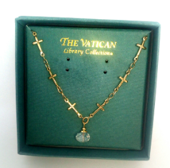 String of Crosses Vatican Library Necklace