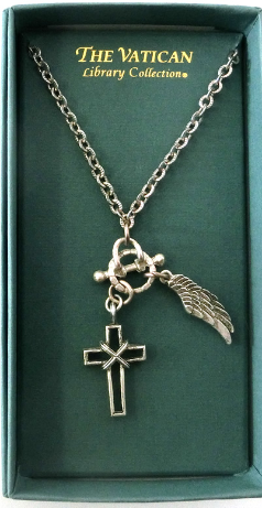 Vatican Collection Faith Charm Necklace