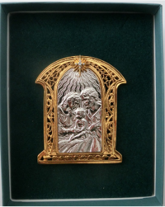 Holy Family STANDING Vatican Collection Ornament