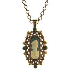 St. Patrick Cameo Necklace