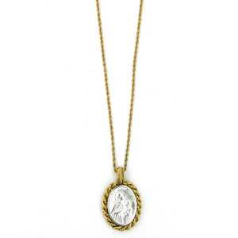 St. Anne Medallion Necklace