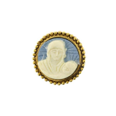 Mother & Child Cameo Tie Pin