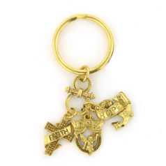 Faith, Love & Joy Charms and Key Ring