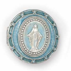 Mary Conceived Without Sin Vatican Pill Box