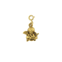 Sweet Cupid Cherub Angel Charm