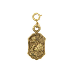 St. Christopher Traveler's Charm