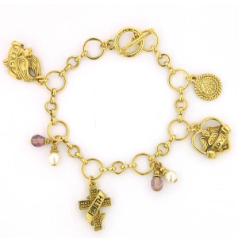 Faith, Love & Joy Charm Bracelet