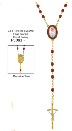 Pope Francis Siam Crystals Rosary