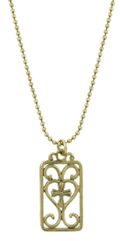 Vatican Tag Necklace