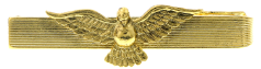 Gold-Tone Dove Tie Bar Clip