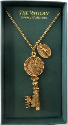 'Vatican Key' Vatican Library Collection Necklace