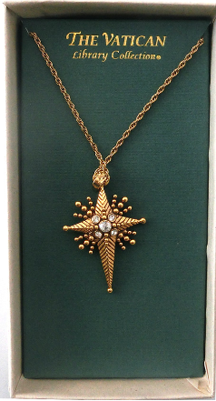 Star of Bethlehem Cross Necklace