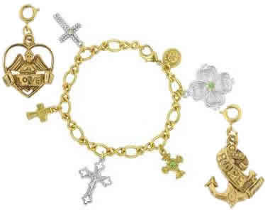 Divine Charms Vatican Jewelry, Vatican Library Collection
