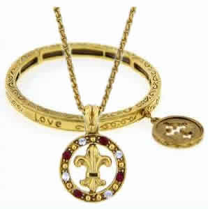 Blessed Flower of the Lily Vatican Jewelry