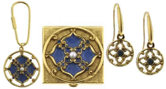 Windows to Heaven Vatican Jewelry, Vatican Library Collection, Catholic Jewelry