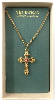 Gold Vatican Collection Cross Necklace