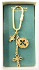 Three Cross Key Chain from the Vatican Library Collection