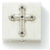 Cross Embellished Petite Pill Box