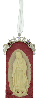Our Lady of Guadalupe Silver Cameo Ornament