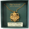 St. Paul Medallion Vatican Library Necklace