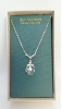 Crystal and Cross Vatican Necklace