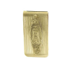 Gold-Tone Mary Money Clip