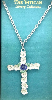 Bold Silver-Plated Vatican Cross Necklace
