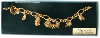 Noah's Arc Gold-Plated Vatican Library Collection Charm Bracelet