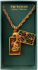Gorgeous Gabriel-Annunciation Sliding Door Pendant Vatican Necklace