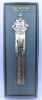 Holy Bible Silver Vatican Bookmark