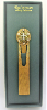 Gold and Crystal Cross Vatican Bookmark