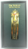 Gold-Tone and Enamel Cross Bookmark