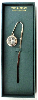 Silver Blue Enamel Cross Pendant Bookmark