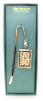 Silver-Plated Initial 'B' Vatican Bookmark