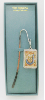 Silver-Plated Initial 'J' Vatican Bookmark