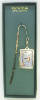 Silver-Plated Initial 'F' Vatican Bookmark