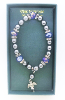 Bead and Crystal Vatican Bracelet