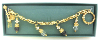 Gold and Crystal Vatican Library Collection Bracelet