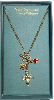 Vatican Library Gold Charm Necklace